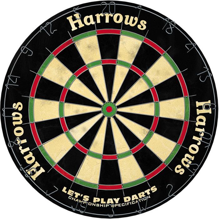Harrows Darts Harrows Let's Play Darts Sisal Dartbord