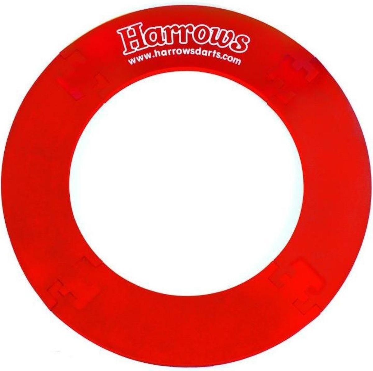 Harrows Darts Harrows 4 Piece Dartboard Surround Rood
