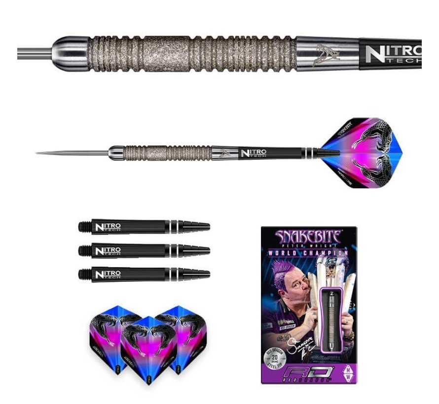 Red Dragon Peter Wright Euro 11 Element darts 90% Tungsten