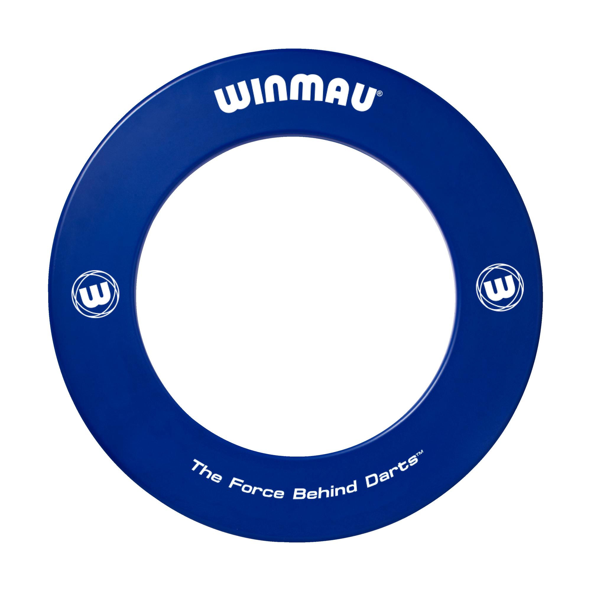 Winmau Darts Winmau dartbord surround met logo - Blauw