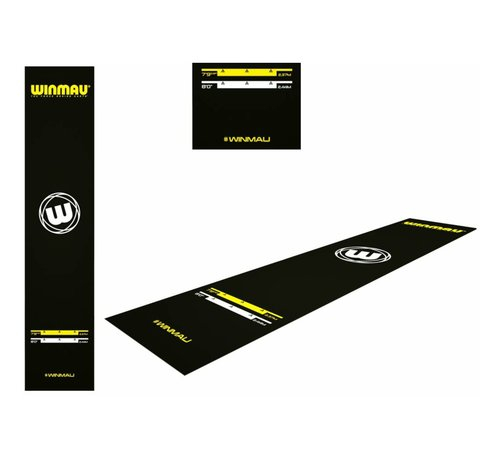 Winmau Darts Winmau Xtreme Dart Mat 300 x 65 cm, met officiële werpafstanden
