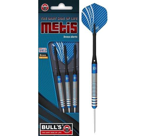 Bull's Germany Bull's Metis Steeltip Brass Dartpijlen - Blauw