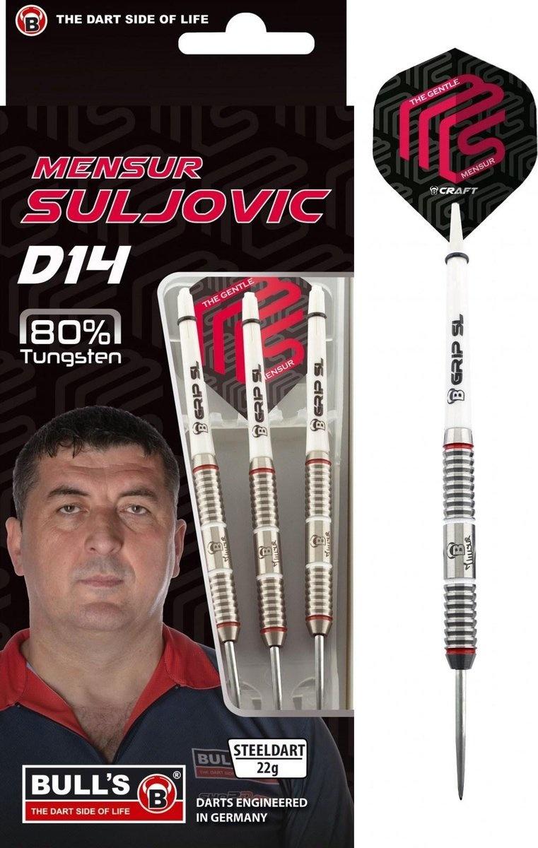 Bull's Germany Bull's Mensur Suljovic D14 dartpijlen