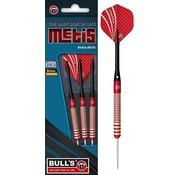 Bull's Germany Bull's Metis Steeltip Brass Darts  - Rood