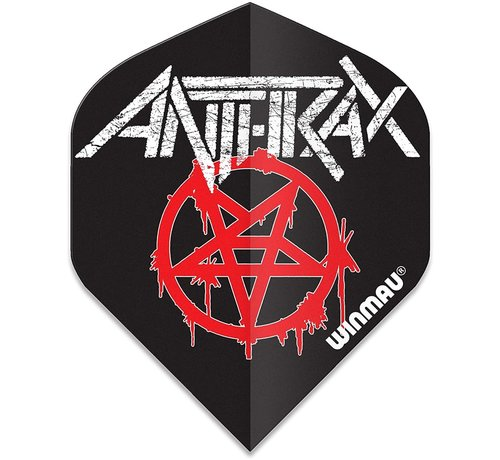 Winmau Darts Winmau Rock Legends Anthrax Dart Flights Logo