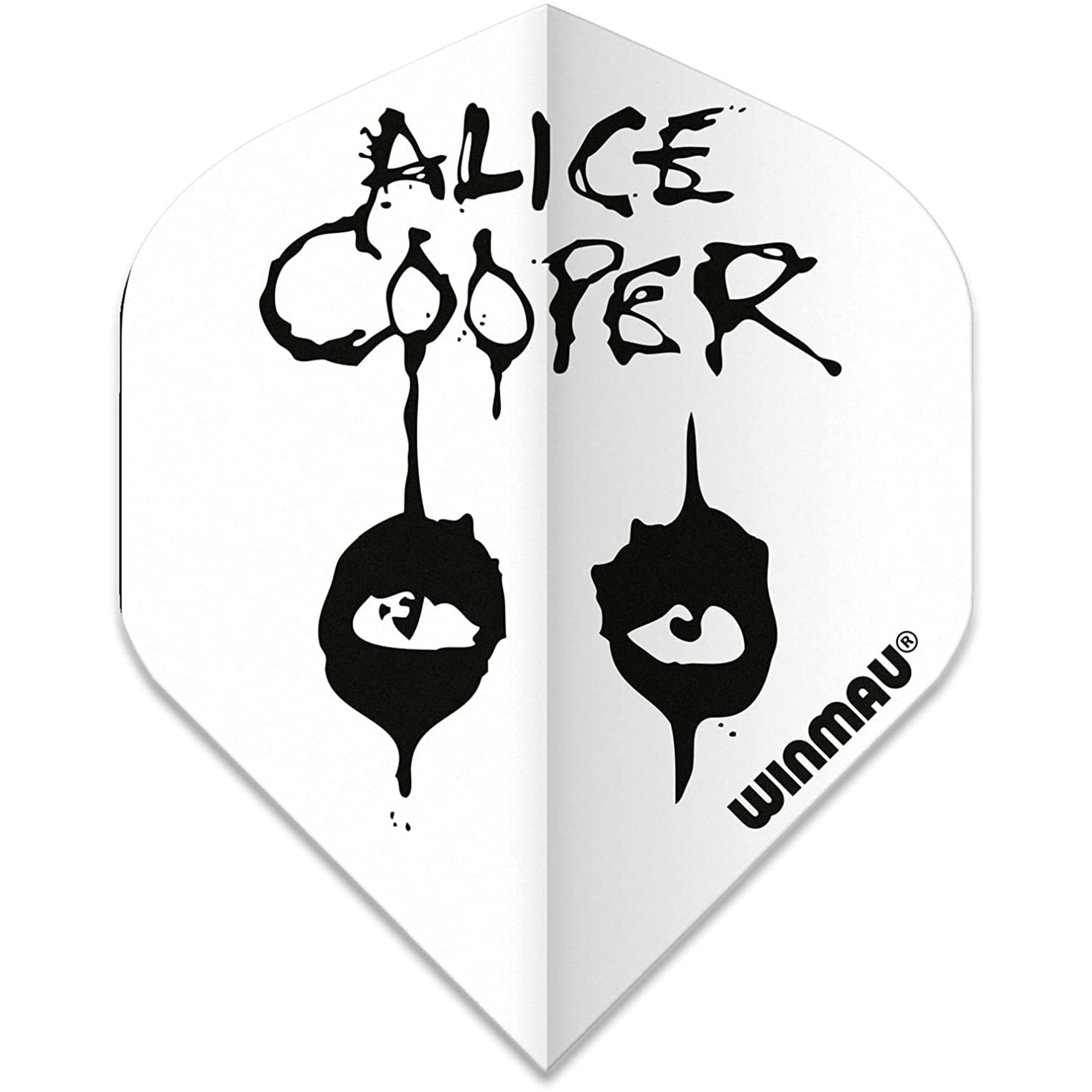 Winmau Darts Winmau Rock Legends Alice Cooper White
