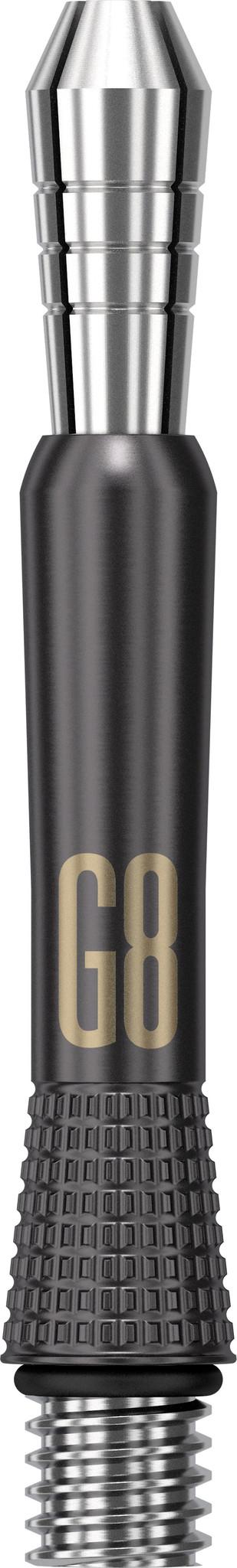 Target Darts Target Power Titanium G8 Short Black dart shaft