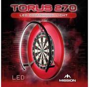 Mission darts Mission Torus 270 Dartbord Verlichting
