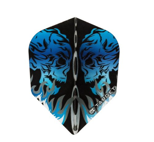 Target Darts VISION BLUE SKULL FACING