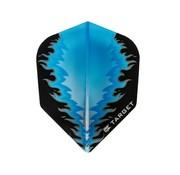 Target Darts VISION BLACK- BLUE FIRE