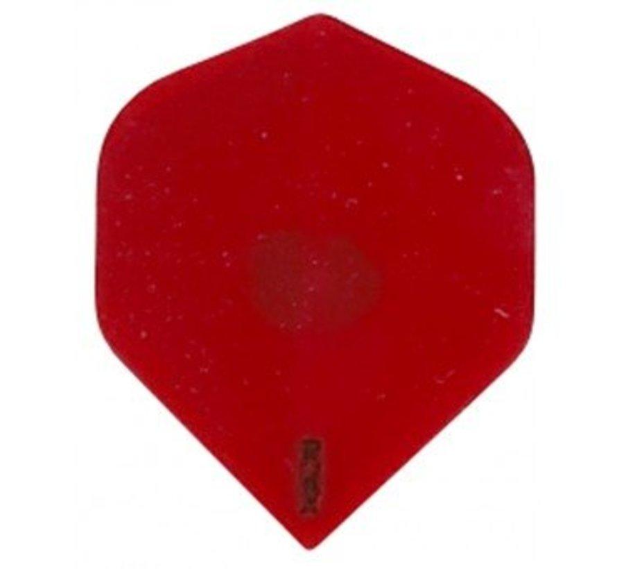 Dart Flight-R4X Transparant Red