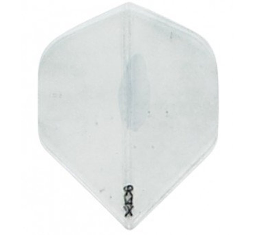 Dart Flight-R4X Transparant Clear