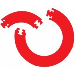 Afbeelding van Bull's Bull's GUARD 4 PCS. FOAM SURROUND- Red