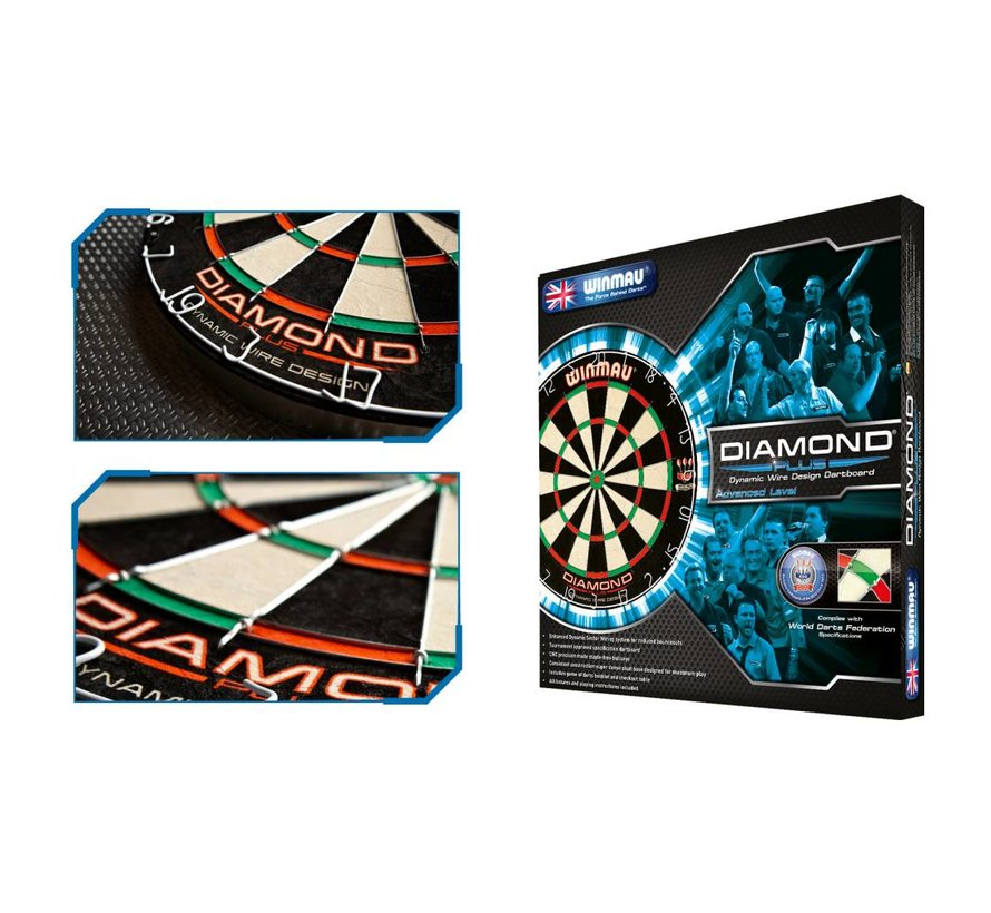 Winmau Diamond Plus Dartbord