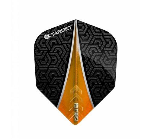 Target Darts Vision Ultra Flight Fin Oranje No.6