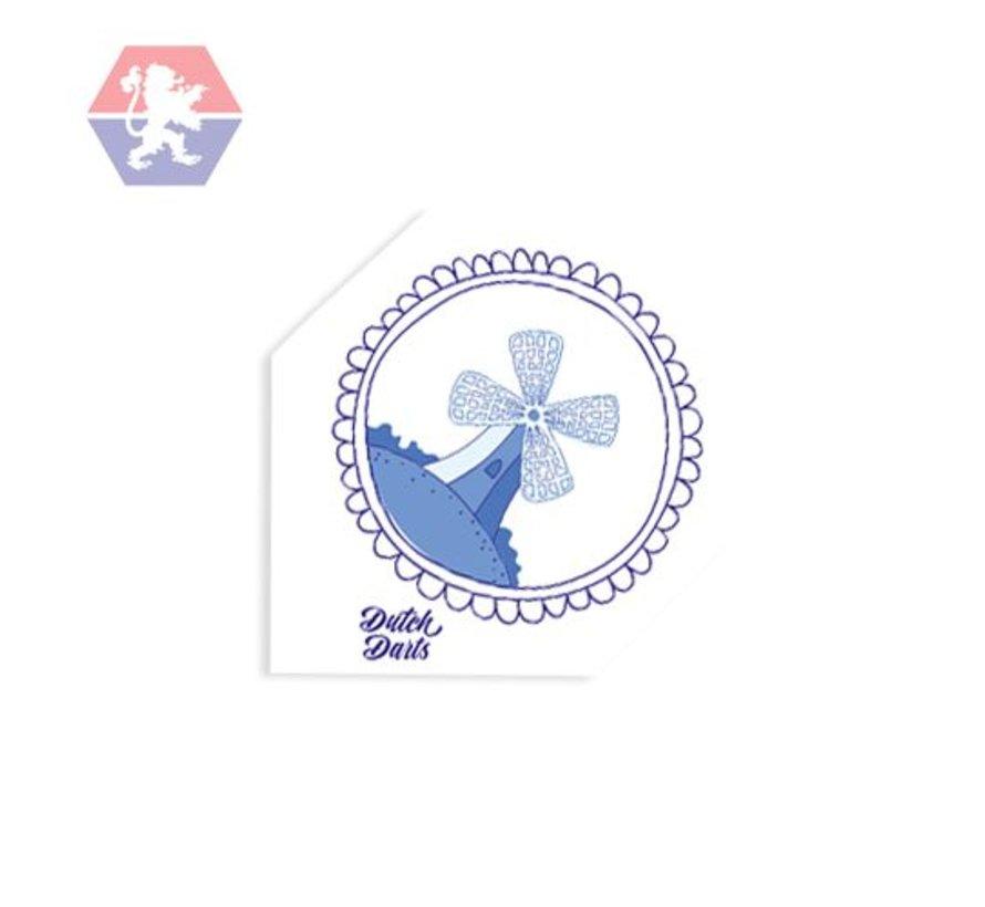 Flight Blue Windmill