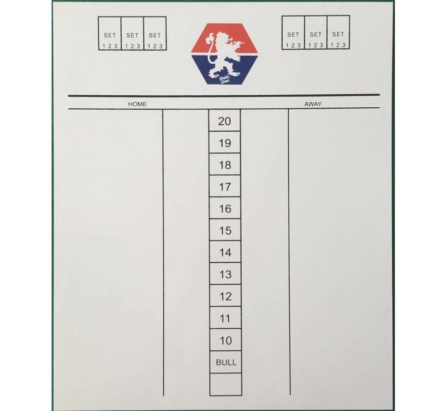 Scorebord Dutch Darts
