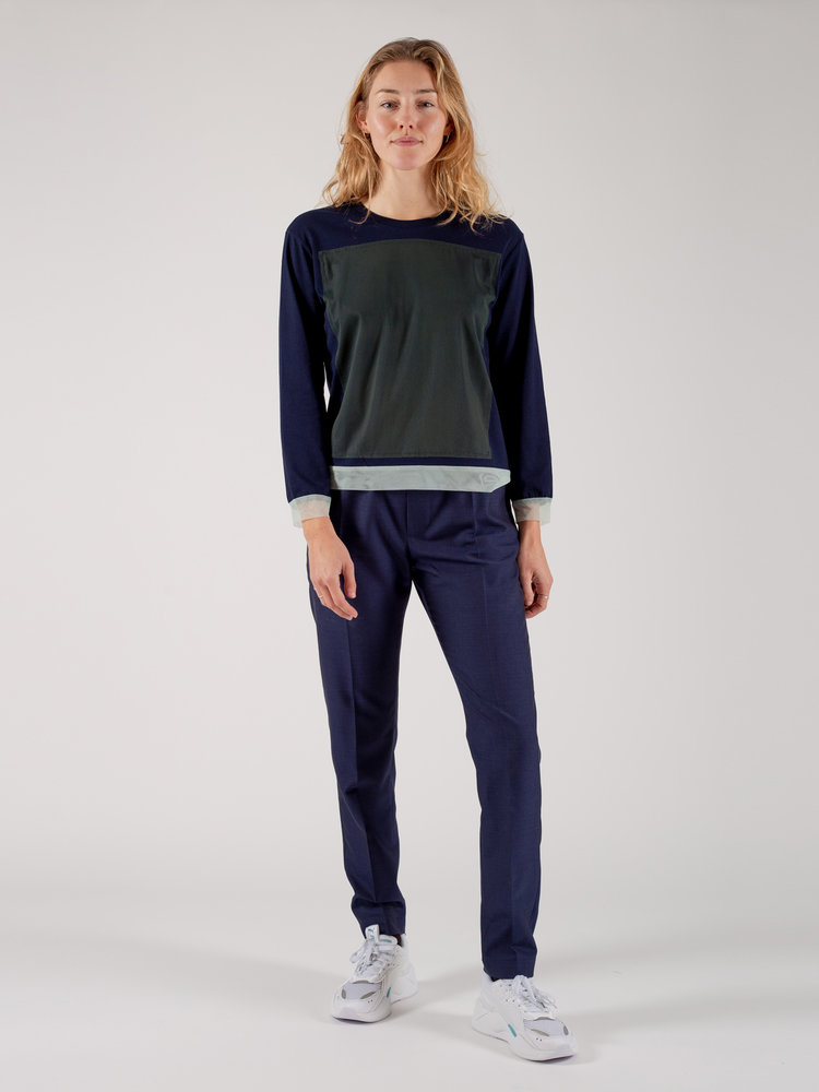 Hacked by__ T-Shirt Colour Block