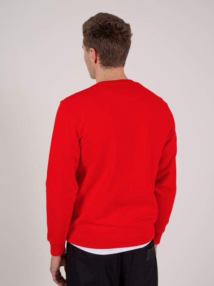 Hacked by__ Colour Block Sweatshirt