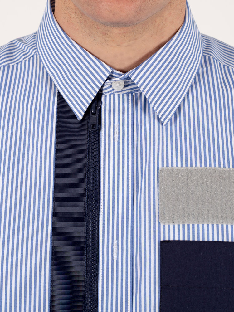 Hacked by__ Tech Zipper Shirt