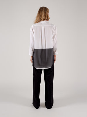 Hacked by__ Shirt Oversized Layered