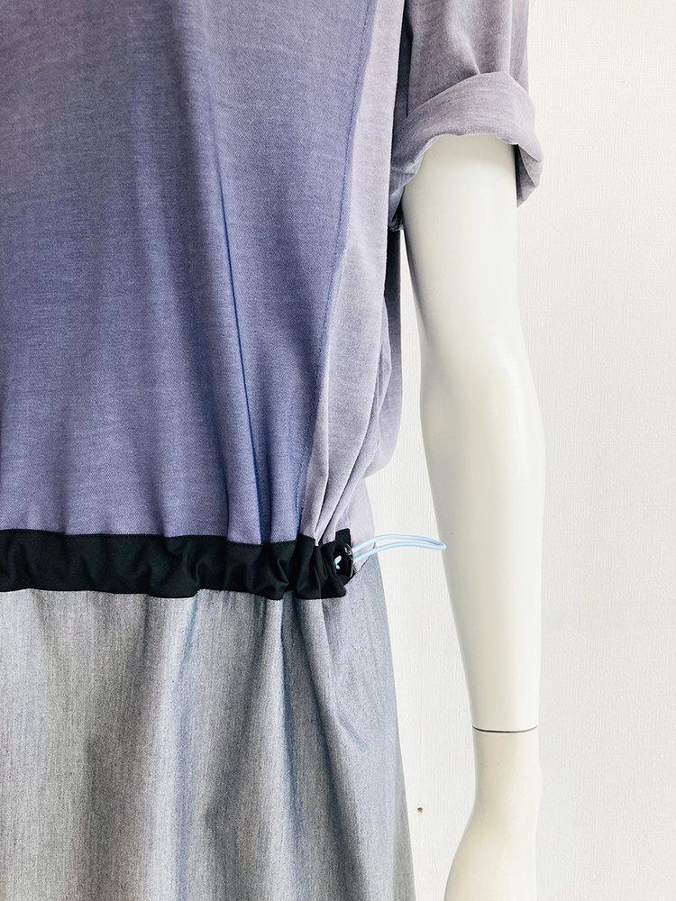 Hacked by__ Colourblock dress