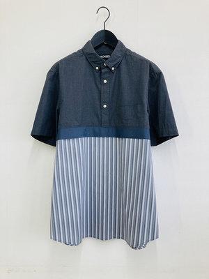 Hacked by__ Shortsleeved anorak shirt | Grey