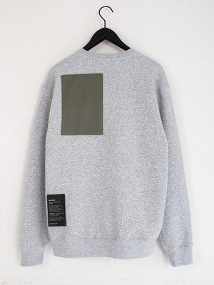 Hacked by__ Inserted sweatshirt | Grey