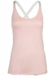 Basic Tank top Roze