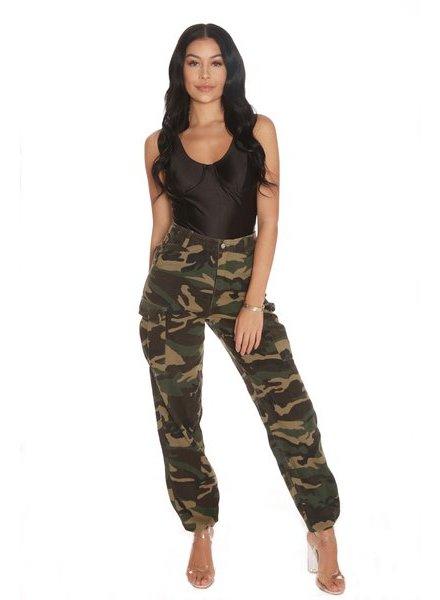 LA SISTERS Camouflage Pants