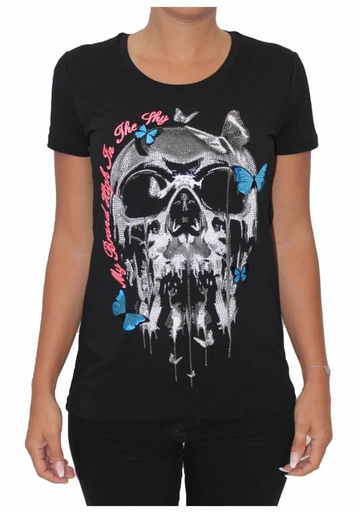 My Brand Butterfly Skull My Brand Tops|Erka Fashion|My Brand