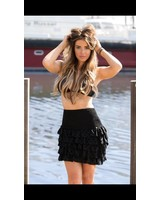Royal Temptation Skirt Rovaro zwart