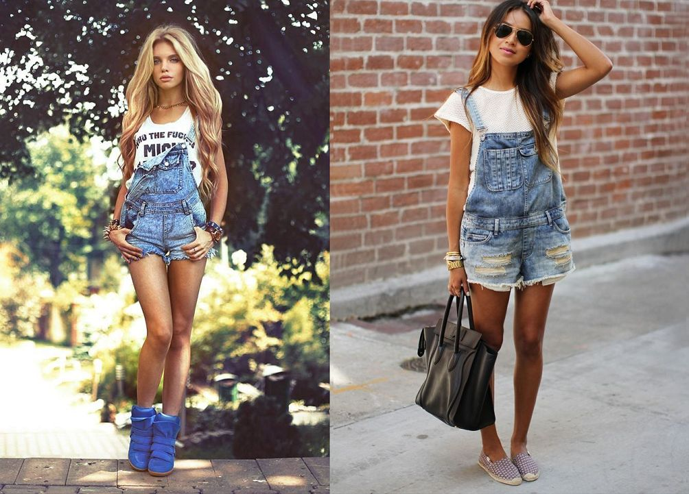 Zomertrend: Fashion Flashback Dungarees