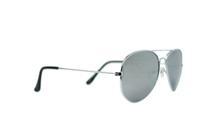 Fashion Mania Zonnebril aviator zilver Fashion Mania Accessoires|Outlet|Sunnys