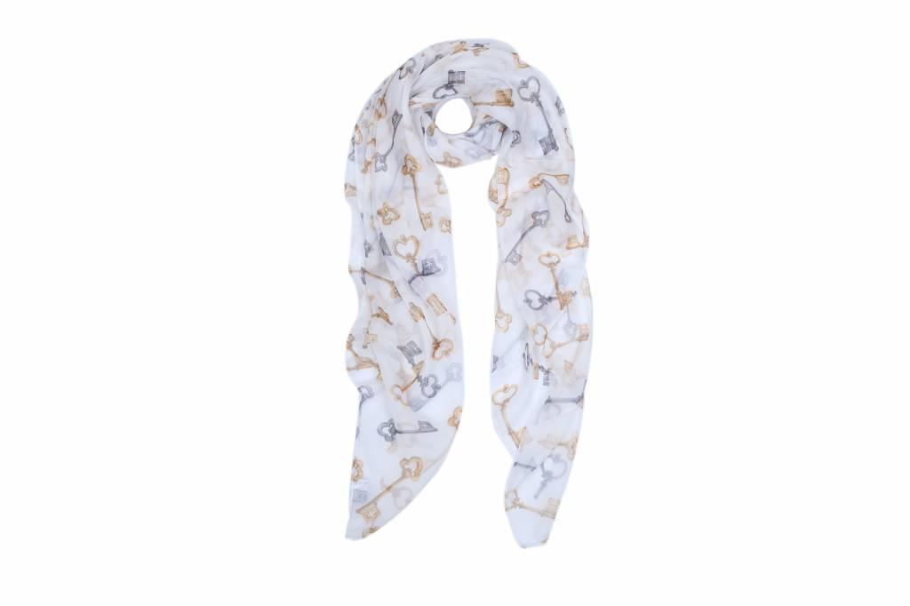Fliex Sjaal met sleutel print