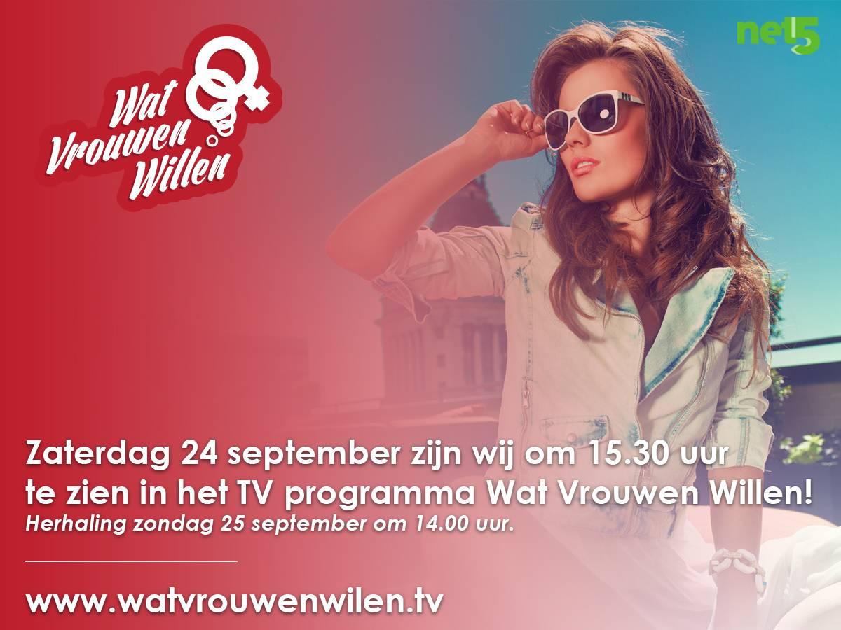 Fashionmania.nl @ Net5 #watvrouwenwillen