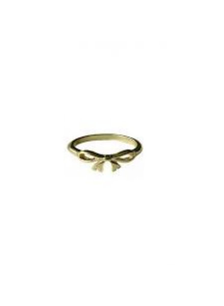 Fashion Mania Ring Strik Goud