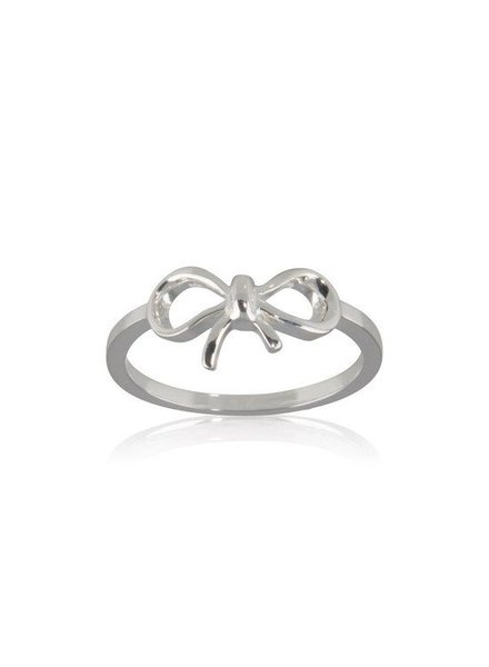 Fashion Mania Ring Strik Zilver