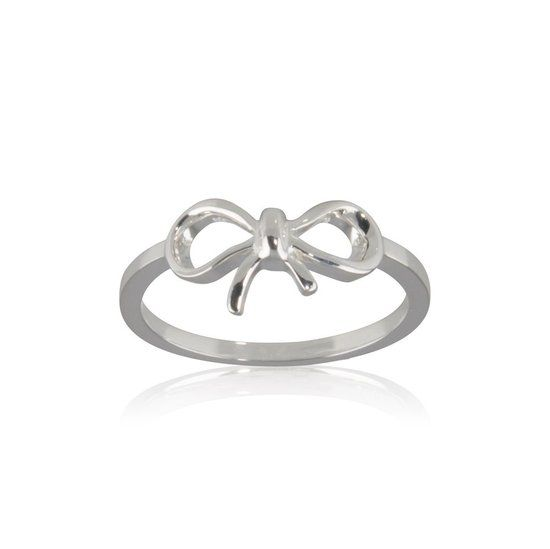 Fashion Mania Ring Strik Zilver
