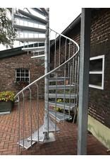 Verbindungsset Außentreppe Aluminium für S mit Podest