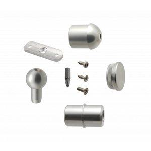 Verbindungsset Außentreppe Aluminium für S 160