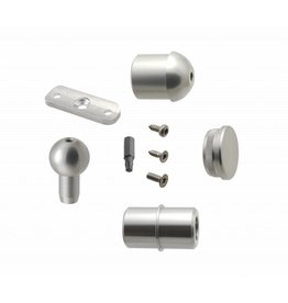 Verbindungsset Aluminium SCARVO L