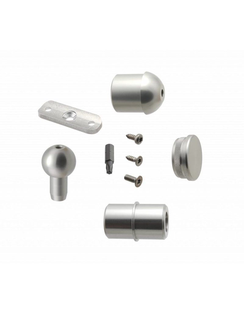 SCALANT Verbindungsset Aluminium für SCARVO L 130 / 160 / 180