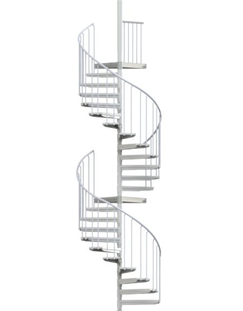 SCALANT Außentreppe SCARVO XL 130