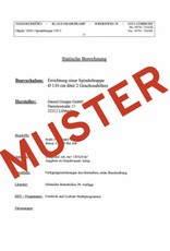 SCALANT Statiknachweis für Außentreppe SCARVO XXL 180