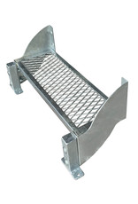 Außentreppe SCARLO  800 mit einer Stufenbreite von 80 cm