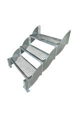 Außentreppe SCATO 800 mit einer Stufenbreite von 80 cm