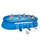 Intex Oval Frame zwembad 610 x 366 x 122 cm