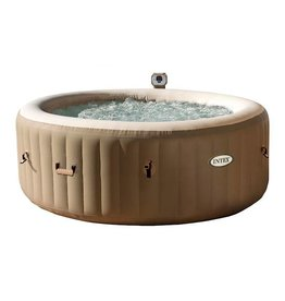 Intex Opblaasbare SPA Bubble Therapy rond