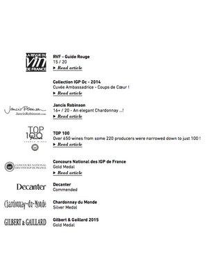 Villa Blanche Villa Blanche Chardonnay 2020